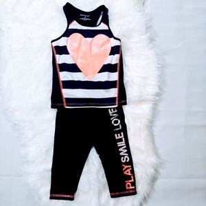 Toddler Activity Wear Leggings & Top Size: 3T